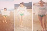 Hồ Ngọc Hà gợi cảm với bikini