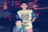 Thời thơ ấu đáng yêu của Wanbi Tuấn Anh