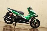 Air Blade 125 phối màu xanh Heineken trẻ trung