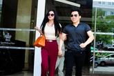 Vợ Phan Thanh Bình khoác tay thân mật 'ông bầu' Ngọc Trinh