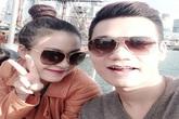 Khắc Việt đón sinh nhật bên Hoàng Thùy Linh ở nước ngoài