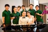 Sốt ảnh Đinh Tiến Đạt và bạn gái hot girl Hàn làm cô dâu chú rể