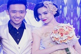 Chú rể Trấn Thành hạnh phúc bên cô dâu gợi cảm Hồ Ngọc Hà
