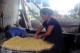 Ruốc thịt làm từ sắn dây tại Hà Nội