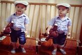 2 con nhà Lý Hải - Minh Hà sành điệu từ bé