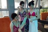 Ảnh bikini cực hiếm của danh hài Vân Dung