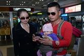 Con gái Jennifer Phạm lần đầu xuất hiện ở Việt Nam