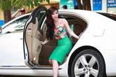 Người đẹp Việt điêu đứng vì... xế sang