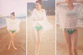"""Hồ Ngọc Hà mặc bikini đo độ """"nóng"""" cùng những mỹ nhân Việt"""