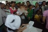 100 trẻ em khuyết tật  sứt môi hở vòm miệng được phẫu thuật miễn phí