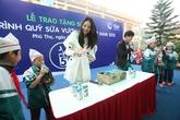 Quỹ sữa vươn cao Việt Nam 2013 đến với trẻ em nghèo tỉnh Phú Thọ