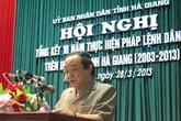 Hà Giang: Tổng kết 10 năm thực hiện Pháp lệnh Dân số