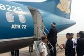 Cận cảnh máy bay đưa Đại tướng rời Hà Nội