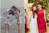 Ảnh độc: Gia đình sao Việt - hot girl xưa và nay