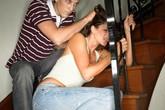 Cha đẻ xé rách da đầu con trong lúc hành hung vợ