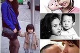 """Những bà mẹ """"hot girl"""" trong showbiz Việt"""