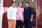 Tặng nhà cho gia đình bà Đinh Thị Mai