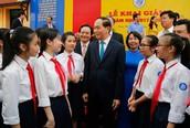 Chủ tịch nước Trần Đại Quang và những căn dặn tâm huyết vì sự nghiệp giáo dục