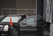 Mật vụ Mỹ lạnh lùng lái 'Quái thú' chở Tổng thống Trump ở Hà Nội