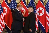 Hình ảnh ghi dấu ấn của Tổng thống Trump và Chủ tịch Kim Jong-un tại Hà Nội