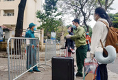 Gần 2.000 người tại KTX Pháp Vân – Tứ Hiệp sắp hoàn thành cách ly tập trung
