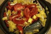 Đổi bữa với cá nục om dứa
