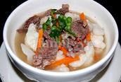 Canh súp lơ thịt bò