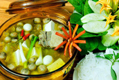 Món mới ngày lễ: Lẩu vịt hầm sả
