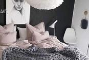 Mặc kệ mùa đông, ngủ dưới lớp chăn len bện thừng này thì ai thấy lạnh nữa chứ