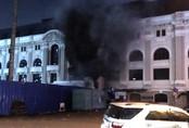 Cháy trạm phát điện Nhà hát TP.HCM, gần trăm khán giả hốt hoảng
