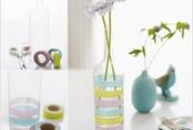 Những cách biến tấu với lọ thủy tinh mang lại màu sắc mới lạ cho căn nhà thêm đẹp