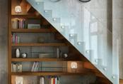 19 giá sách kết hợp với cầu thang khiến bạn yêu ngay từ cái nhìn đầu tiên