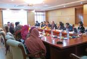 Tổng cục DS-KHHGĐ tiếp đoàn công tác Uỷ ban Quốc gia DS-KHHGĐ Indonesia