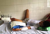 Cứu đôi chân của cậu bé mang nhóm máu hiếm