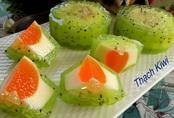 Bánh trung thu thạch trái cây đẹp như hoa