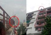 Đòi nhảy tự tử từ tầng 9 tòa nhà cao tầng vì bạn thân đi lấy vợ