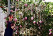 Khu vườn trên sân thượng rộng tới 200m² bạt ngàn rau quả sạch của nữ doanh nhân Sài Thành
