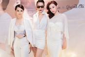 Dương Yến Ngọc cùng dàn sao diện đồ trắng tới chúc mừng Quỳnh Chi