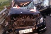 Tai nạn trên cao tốc Hà Nội - Hải Phòng: 4 người trên xe Mercedes đều tử vong