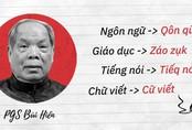 Chuyện 'ném đá' khoa học từ đề xuất cải tiến tiếng Việt vào đề Ngữ văn