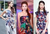 Jumsuit họa tiết dáng dài – hot trend dành cho nàng đi biển dịp 30/4