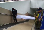 Hà Nội: Sáng sớm đi tập thể dục, bàng hoàng phát hiện xác chết dưới hầm đi bộ Kim Liên
