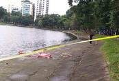 Thi thể người đàn ông nổi lập lờ trên hồ Thiền Quang dưới trời rét buốt 14 độ