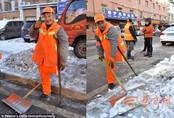 Công nhân cụt chân, câm điếc 12 năm quét rác không nghỉ một ngày