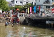 Một phụ nữ nhảy sông sau khi cãi nhau với chồng