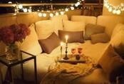 Ban công lung linh, đẹp lãng mạn về đêm với vô vàn ý tưởng thú vị làm đẹp bằng ánh sáng