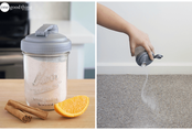 Mẹo hay khử mùi ẩm mốc từ thảm do trời nồm bằng nguyên liệu rẻ tiền, có sẵn trong bếp nhà bạn