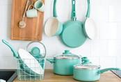 """Những món phụ kiện bếp đẹp đến """"lịm tim"""" dành cho tín đồ gam màu pastel"""