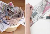 Con dâu ngày nào cũng lấy báo cũ của bố chồng làm đủ thứ việc khiến cả nhà sửng sốt