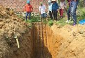 Phát hiện dầu rỉ theo mạch nước ngầm ở Hà Tĩnh